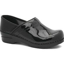 Dansko Professional Women's Black Patent Leather Clog