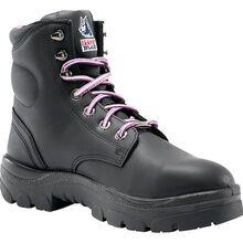 Steel Blue Argyle Women's 6 inch Steel Toe Leather Work Boot