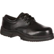 SlipGrips Women's Steel Toe Slip-Resistant Oxford