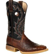 Durango® Rebel Pro™ Oiled Saddle Ostrich Western Boot