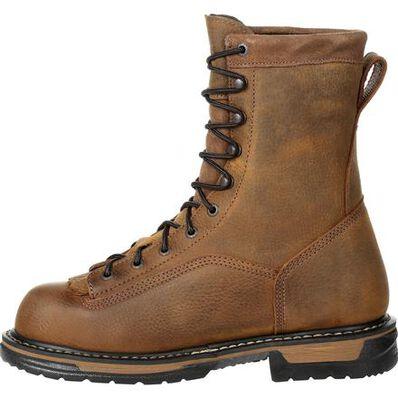 Rocky IronClad Steel Toe Waterproof Work Boot, , large