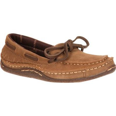 LIL' DURANGO® Big Kid Santa Fe Moccasin, , large
