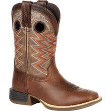 Durango® Lil' Rebel Pro™ Little Kid's Tiger Eye Western Boot