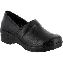 Easy WORKS by Easy Street Lyndee Women's Slip-Resistant Slip-On Work Shoe
