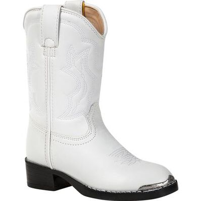 Durango® Little Kid White Western Boot, , large