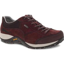 Dansko Paisley Women's Waterproof Mahogany Suede Oxford