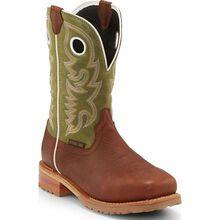 Justin Work Marshal Men's 11 inch Steel Toe Electrical Hazard Waterproof Pull-on Western Work Boot