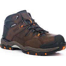 HOSS Tracker Men's 5 inch Composite Toe Electrical Hazard Waterproof Leather Work Hiker