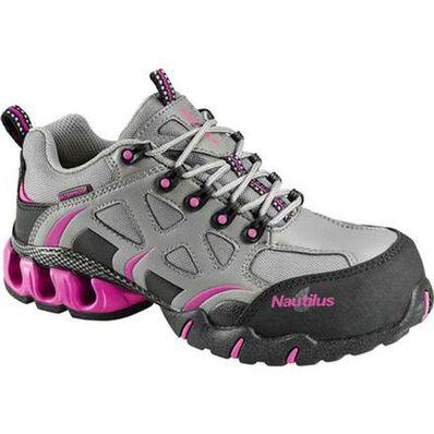 Nautilus Women's Composite Toe Waterproof Work Athletic Shoe, , large
