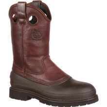 Georgia Boot Muddog Steel Toe Wellington Work Boot