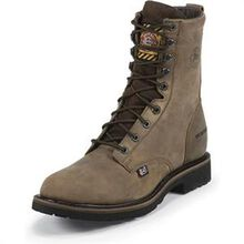 Justin Work Steel Toe Waterproof Lace-Up Work Boot