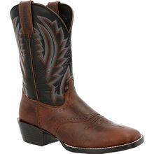 Durango® Westward™ Dark Chestnut & Black Onyx Western Boot