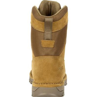 "Rocky Portland 8"" Coyote Brown Public Service Boot, , large"