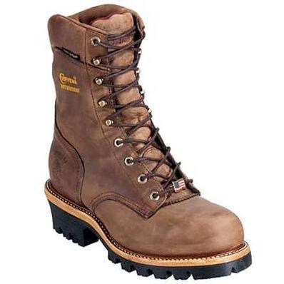 Chippewa Bay Apache Steel Toe Waterproof Insulated Logger Work Boot, , large