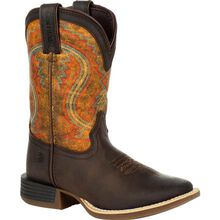 Lil' Durango® Rebel Pro™ Little Kid's Burnt Orange Western Boot