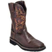 Justin Work Stampede Steel Toe Western Boot