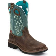 Tony Lama 3R Women's Composite Toe Waterproof Western Work Boot