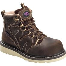 Avenger Wedge Women's Composite Toe Electrical Hazard Waterproof Work Boot