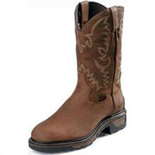 Tony Lama Work Steel Toe Waterproof Western Boot