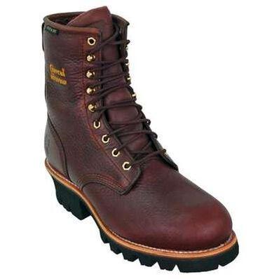 Chippewa Steel Toe Waterproof Insulated Logger Work Boot, , large