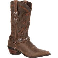 Crush™ by Durango® Women's Brown Heartbreaker Boot