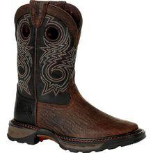 Lil' Durango® Maverick XP™ Little Kid's Black Western Boot
