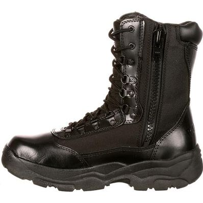 Rocky Fort Zipper Waterproof Public Service Boot, , large