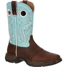 Lady Rebel™ by Durango® Women's Powder n' Lace Saddle Western Boot
