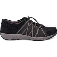Dansko Honor Women's Casual Black Suede Oxford