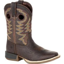 Durango® Lil' Rebel Pro™ Little Kid's Brown Western Boot
