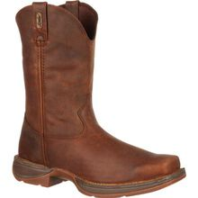 Rebel™ by Durango® Brown Pull-On Western Boot