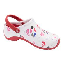 Anywear Zone Women's Slip-Resistant Clog with Strap