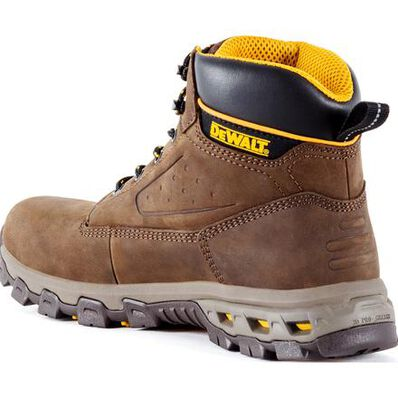 DEWALT® Halogen Men's Aluminum Toe Electrical Hazard Leather Work Hikers, , large