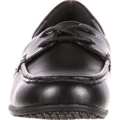 SlipGrips Women's Slip-Resistant Boat Shoe, , large
