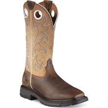 Ariat Workhog Wide Square Steel Toe Western Work Boot