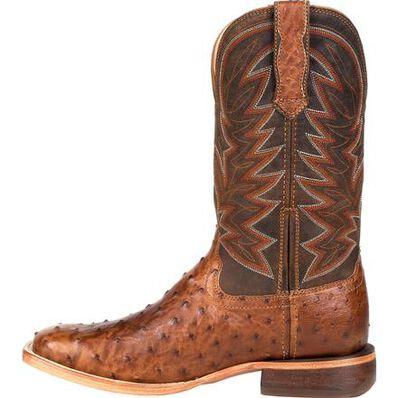 Durango® Premium Exotic Full-Quill Ostrich Western Boot, , large