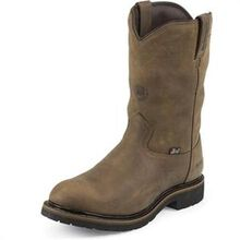 Justin Work Waterproof Insulated Pull-On Work Boot