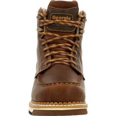 Georgia Boot AMP LT Wedge Waterproof Moc-Toe Work Boot, , large
