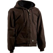 Berne Original-Washed Hooded Quilt-Lined Jacket