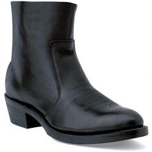 Durango® Black Side Zip Western Boot