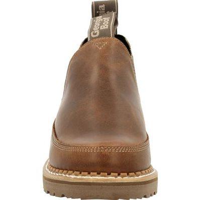 Georgia Boot Georgia Giant Women's Brown and Stripe Romeo Shoe, , large