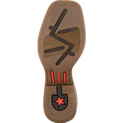 Durango® Lil' Rebel Pro™ Big Kid's Blue Western Boot, , large