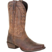 Durango® Rebel Frontier™ Distressed Brown Western Boot