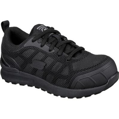 SKECHERS Work Bulklin-Ayak Women's Composite Toe Electrical Hazard Puncture-Resisting Athletic Work Shoe, , large