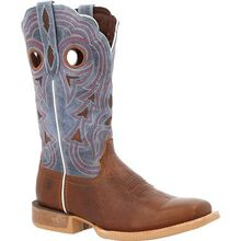 Durango® Lady Rebel Pro™ Women's Golden Brown & Periwinkle Western Boot