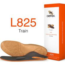 Aetrex Men's Train Flat/Low Arch Posted with Metatarsal Support Orthotic