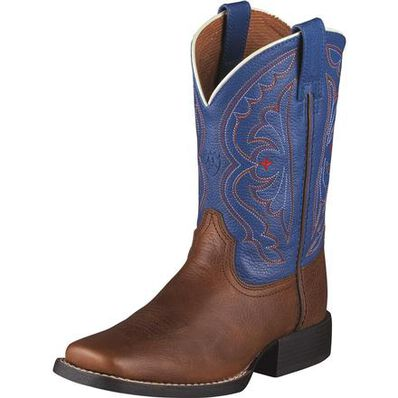 Ariat Quickdraw Kids' Western Boot, , large