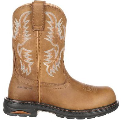 Ariat Tracey Women's Composite Toe Western Work Boot, , large