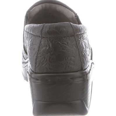 Klogs Naples Women's Slip Resistant Tooled Work Clog, , large