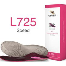 Aetrex Speed Women's Flat/Low Arch Posted with Metatarsal Support Orthotic
